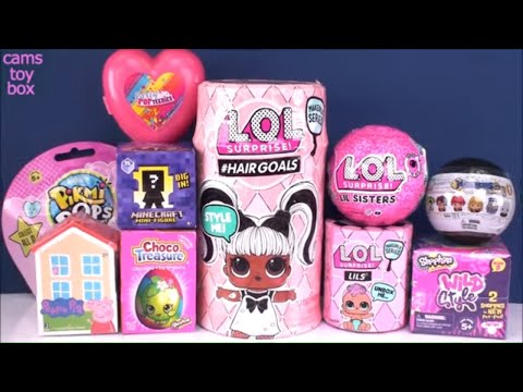 lol-surprise-hairgoals-series-5-4-lils-wave-2-lil-sisters-dolls-unboxing-toys-toy-review