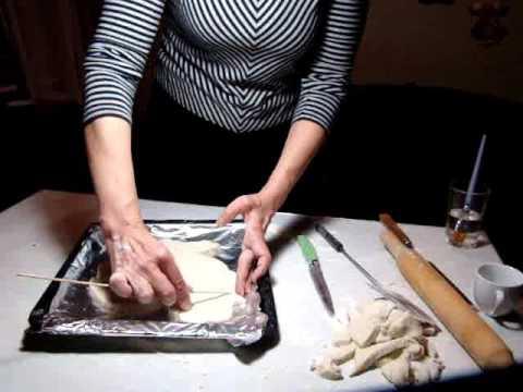 Поделки из соленого теста.Crafts from salt dough.