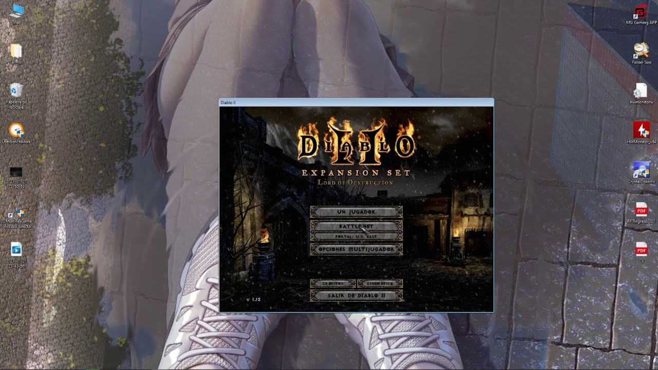 Diablo 2, no inicia o no puedo jugar en pantalla completa (Solucion) (Jugar en full hd)