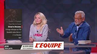 O. Rouyer «Giroud, le mal-aimé de l'équipe de France» - Foot - Bleus