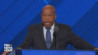 Rep. John Lewis at DNC: