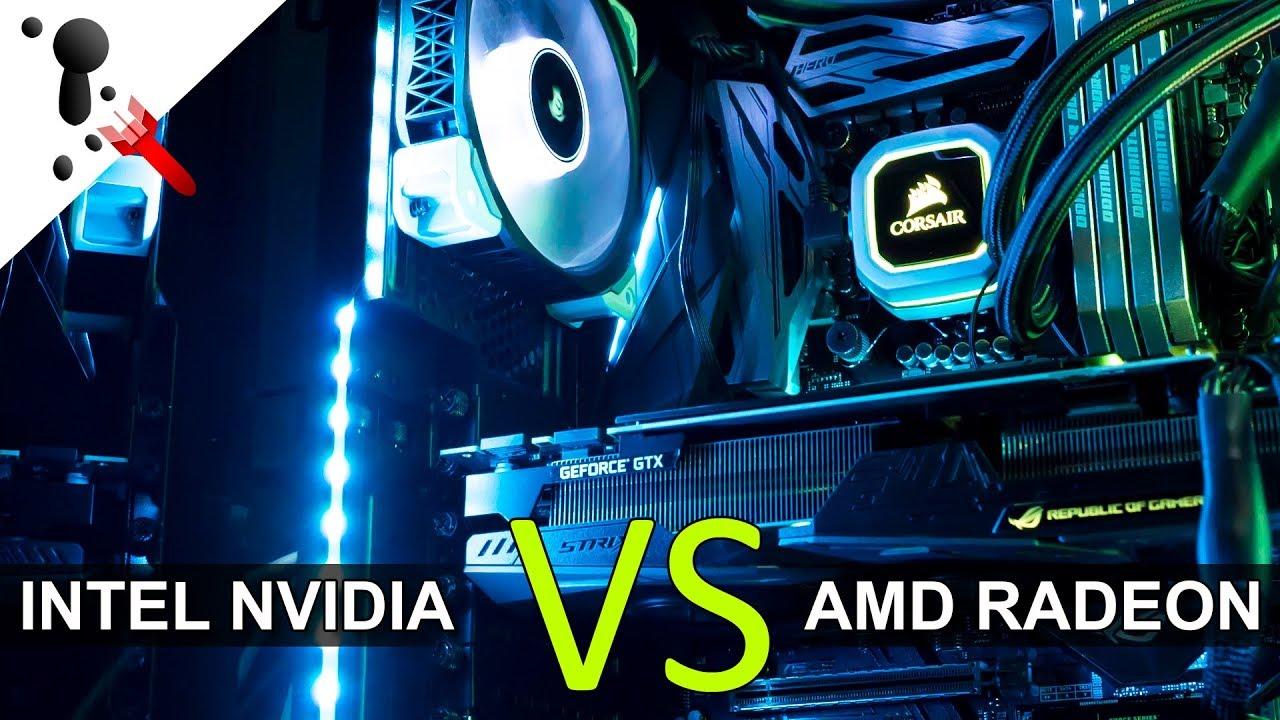 Intel & NVIDIA VS AMD feat  Benchmarks with Tech Yes City