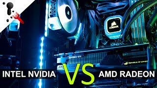 Intel & NVIDIA VS AMD feat. Benchmarks with Tech Yes City