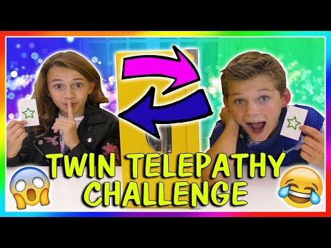 TWIN TELEPATHY CHALLENGE | We Are The Davises