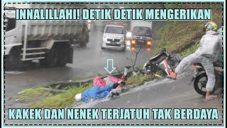 Download Innalillahi, Live Detik Detik Mengerikan Pengendara Motor Terjatuh Dipinggir Tanjakan Sitinjau Lauik