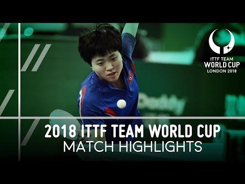 2018 Team World Cup Highlights I Zhu Yuling vs Kim Song I (Group)