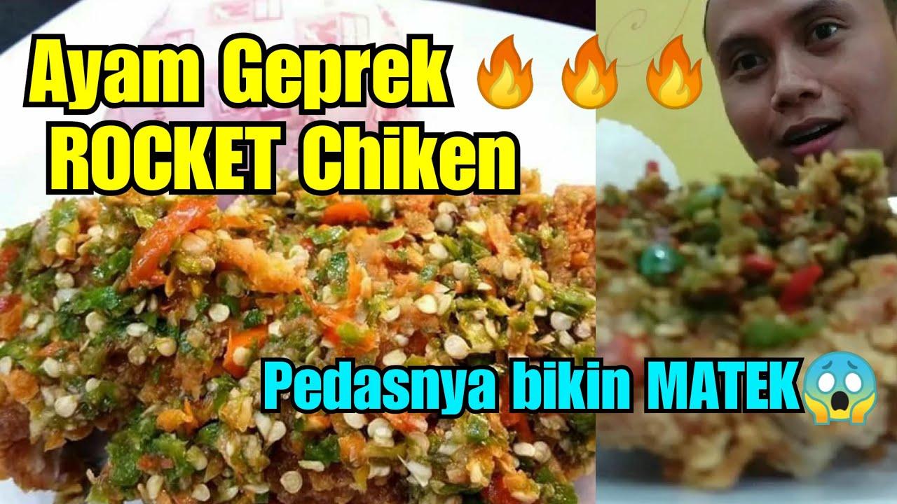 Mantull Ayam Geprek Rocket Chicken Lumajang Youtube