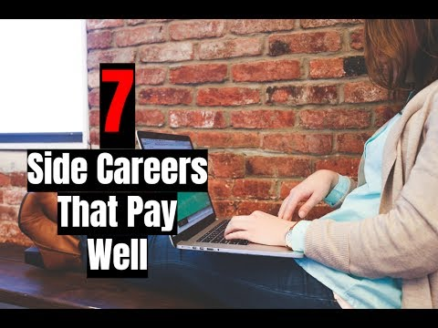 7 Side Careers That Are High Paying in 2017