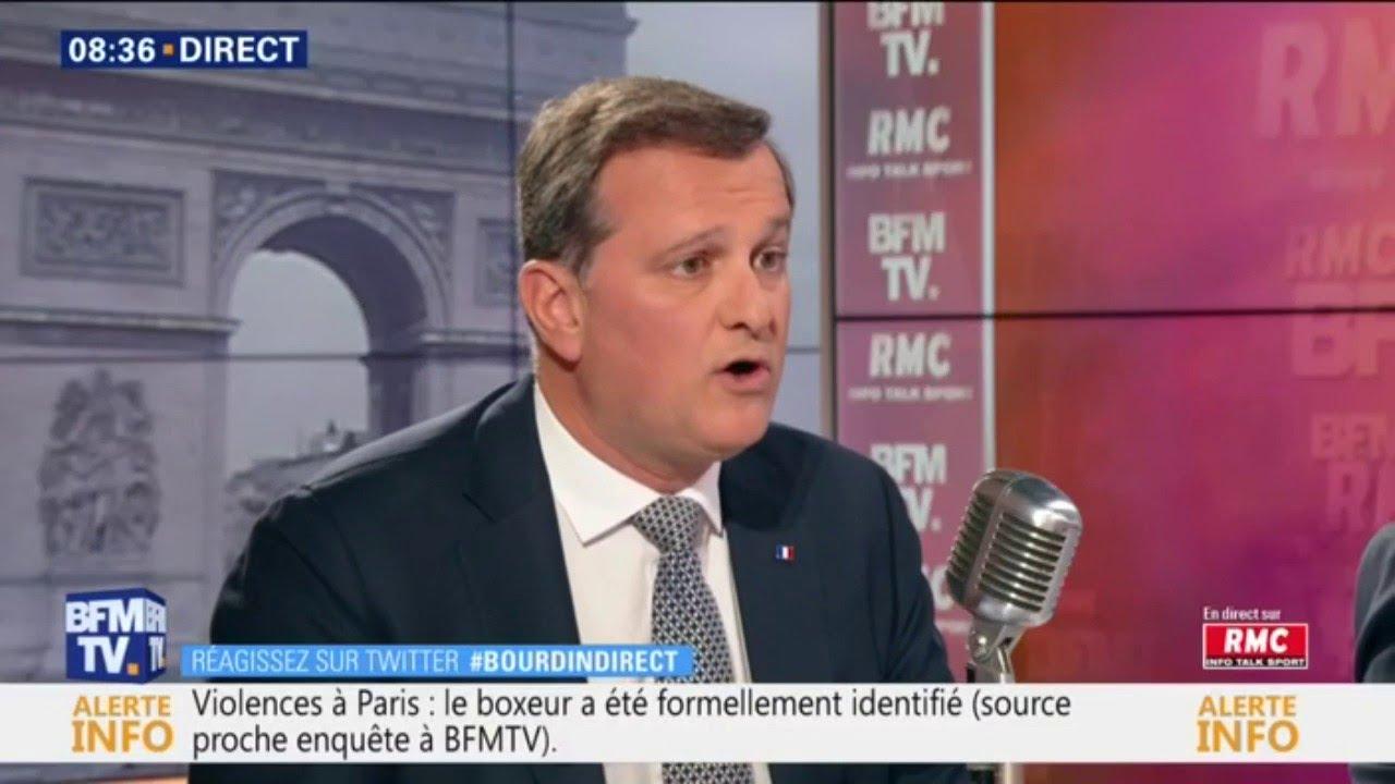 """Gilets Jaunes: Louis Aliot se positionne pour """"la dissolution de l'Assemblée nationale&quo"""