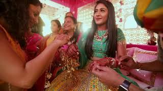 Colours Of Love | Anshika & Biren | Haldi Function | Weddings By Doorbean Films