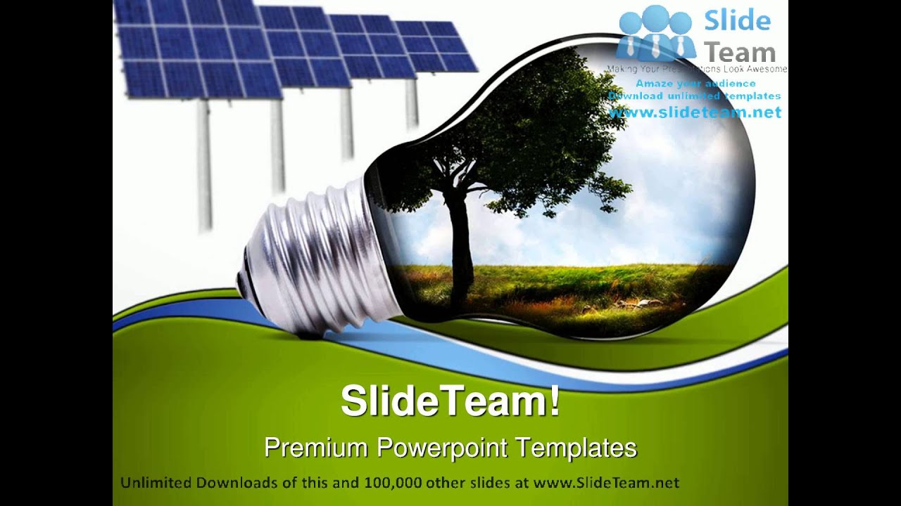 green energy environment powerpoint templates themes and, Presentation templates