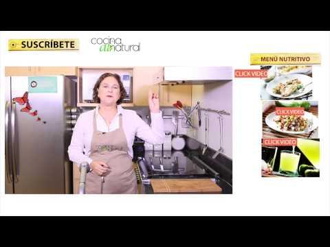 Recetas para adelgazar - Menú nutritivo fácil y rápido