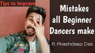 Tips to improve Dance HINDI | Mistakes made by New Dancers | Learn to dance