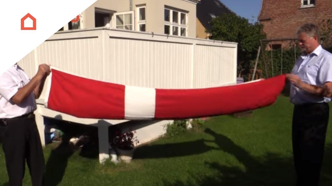 Fold Og Opbevar Dit Flag Bedst Youtube