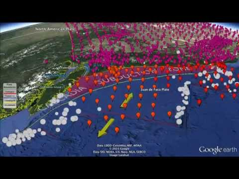 Cascadia Initiative: Seismic stations across the Juan de Fuca plate