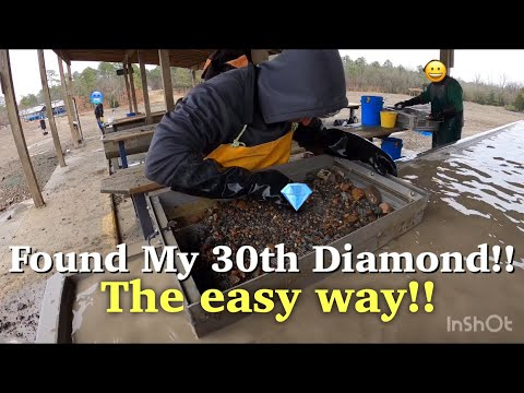 Found A Diamond The Easy Way!| Crater of Diamonds State Park