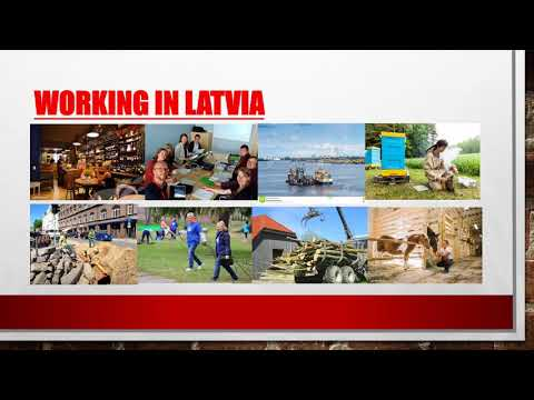 If you'd like to work in Latvia,
