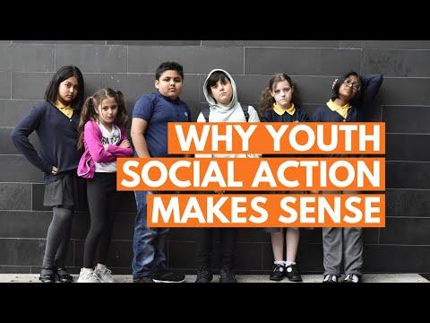 Why youth social action makes sense