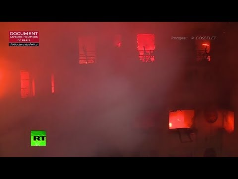 Deadly fire engulfs residential building in Paris