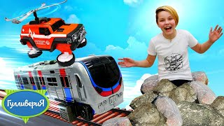 Игровое шоу Гулливерия - Тоботы трансформеры спасают игрушки - Веселые видео для мальчиков