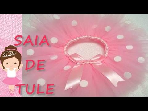 d6045192a9 SAIA DE TULE ♥ BALLET