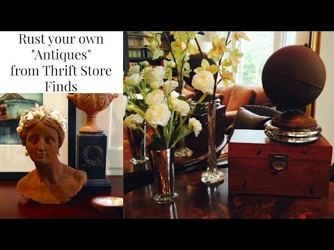 "GOODWILL Rust Your Own ""Antiques"" DIY"