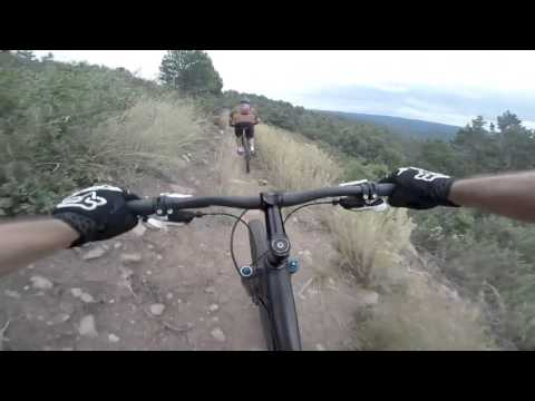 Mountain bike ride at Grindstone Lake Trail - Ruidoso, New Mexico