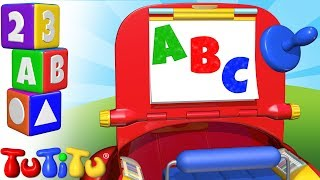 Impara l'inglese per i bambini   Alfabeto in Inglese   ABC Set per disegnare   TuTiTu prescolastico