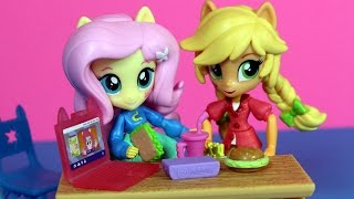 Złe nawyki Applejack - Equestria Girls Mini - My Little Pony - bajka po polsku