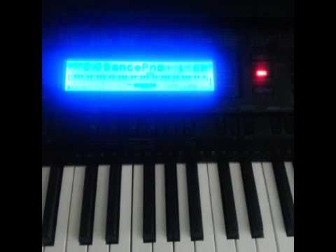 Brittney Wright - Be Alright on the Casio WK-500 Piano Keyboard