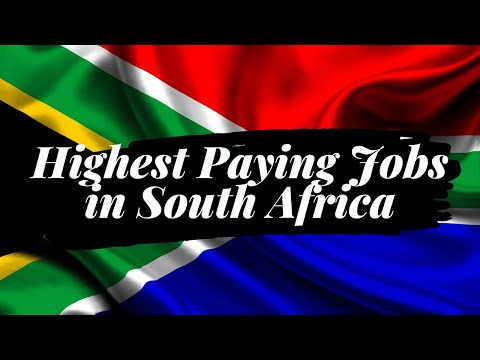 Highest Paying Jobs In South Africa