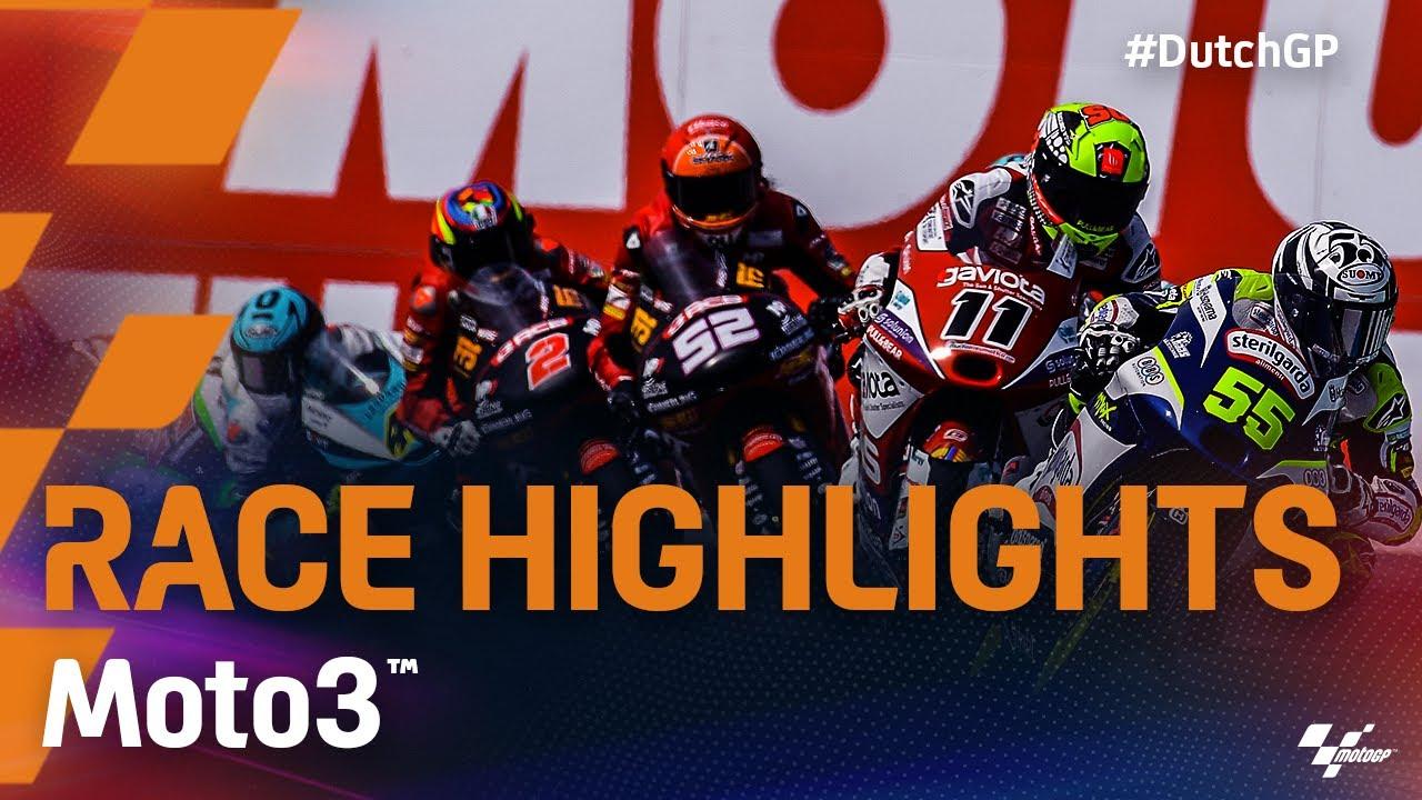 Moto3™ Race Highlights | 2021 #DutchGP