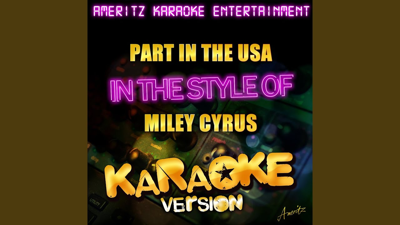 party in the usa karaoke version