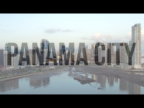 Panama City Skyline in 4K 🇵🇦 | DJI PHANTOM 3 PRO