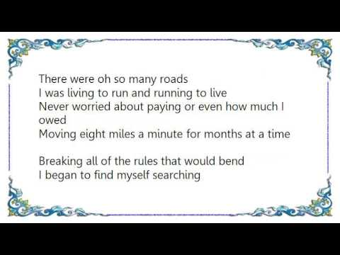 Bob Seger - Against the Wind Lyrics - YouTube