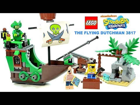 LEGO® Pirate SpongeBob Squarepants 3817 The Flying Dutchman w/ Pirate Patrick
