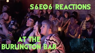 GAME OF THRONES S6E06 Reactions at Burlington Bar COLD HANDS // DROGON & DANY