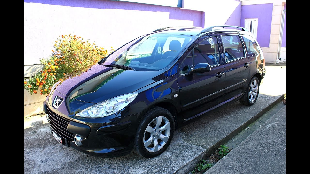 Peugeot 307 sw 1 6hdi new face 2007 youtube for Interieur 307 sw