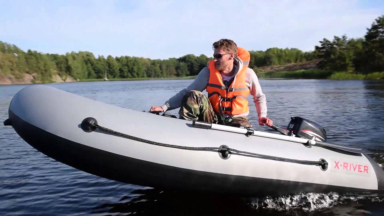 лодка река 285