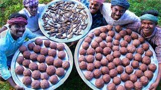 KALI with KARUVADU | Healthy Ragi Mudde and Dried Fish Recipes | Cooking Traditional Village Food