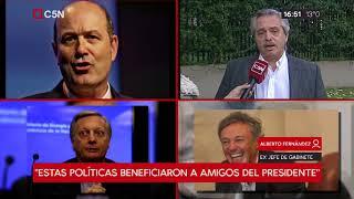 Cambios en el Gabinete: Entrevista a Alberto Fernández