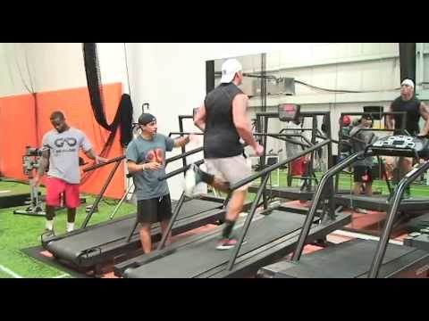 XPE SHREDmill Demo with DL Derek Wolfe and DB Kareem Jackson