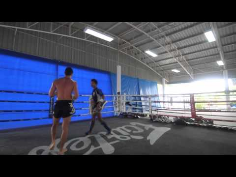 Michael Galvin Training with Robert Lek