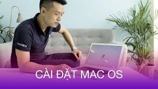 Hướng dẫn cài đặt lại hệ điều hành Mac OS cho máy tính Macbook