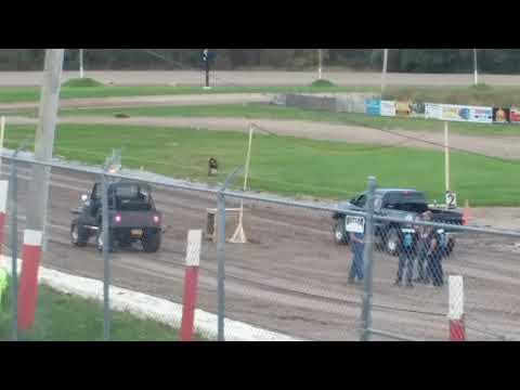 Utica Rome Speedway Truck Drag Part 2