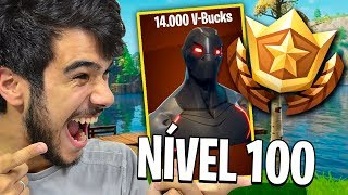 I SPENT 13,000 V-BUCKS AND I PUT THE BATTLE PASS LEVEL 100!! Season 4 Fortnite