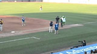 Galarraga near perfect game - Lake County Captains