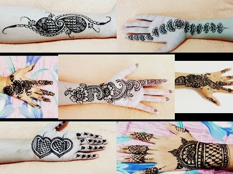 Henna Mehndi Stickers : Easy simple mehndi mehendi mehandi tattoo henna design tutorial