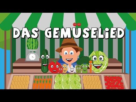 Das Gemüselied - Kinderlieder zum mitsingen - german vegetable song - Gemüse lernen