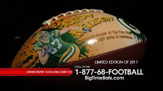 Jordy Nelson Commemorative Art Football